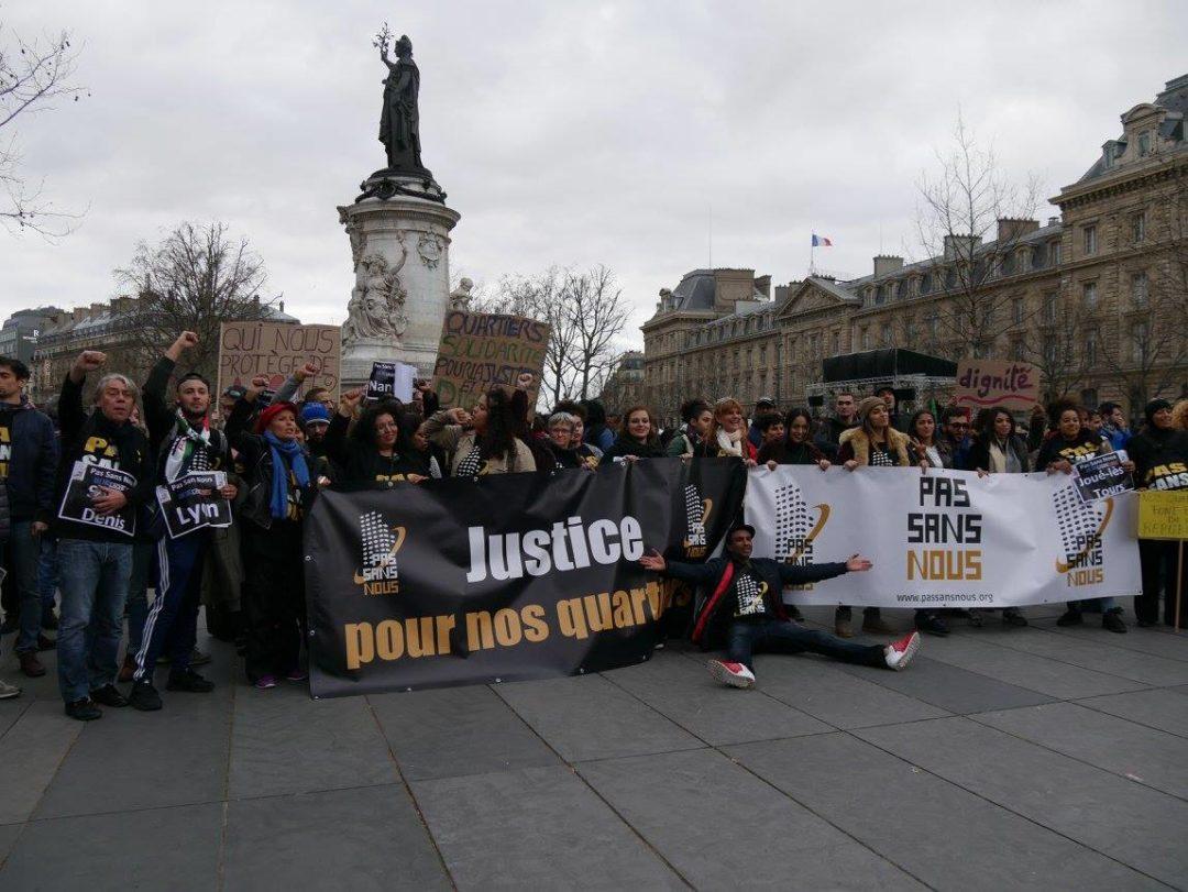 Pas sans nous à la marche pour le justice et la dignité